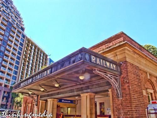 Museum Railway Station c.1926