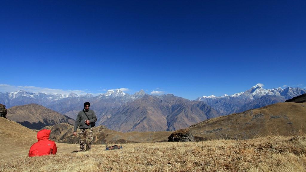 Kuari Pass Top