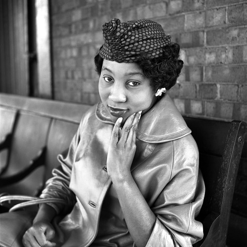 Black woman - by Vivian Maier