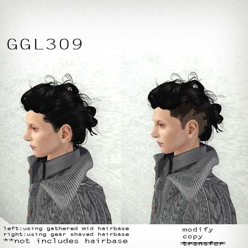 booN GGL309 hair