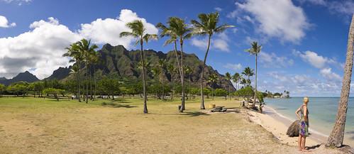 Kualoa Regional Park, O'ahu, Hawai'i
