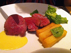 Chateaubriand at The Honours, Edinburgh