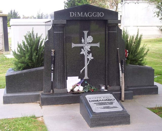 The Grave Of Baseball Great Joe Dimaggio Flickr Photo