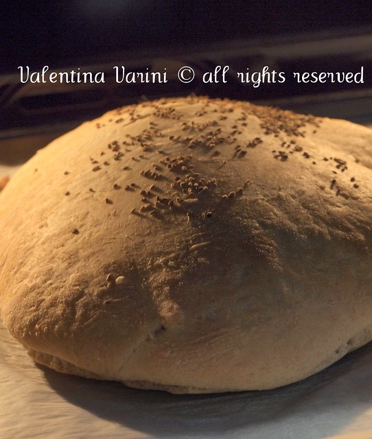 Pane all'Ajwan in forno