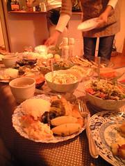 meal(1.0), dinner(1.0), supper(1.0), brunch(1.0), food(1.0),