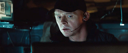 Simon Pegg as Benji Dunn