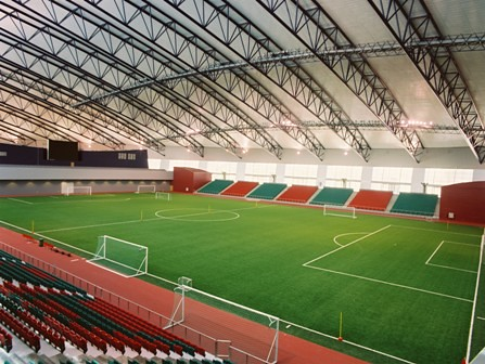 Aspire Dome Indoor Football Pitch The Aspire Dome Is