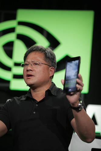 CES 2012 Nvidia  conférence