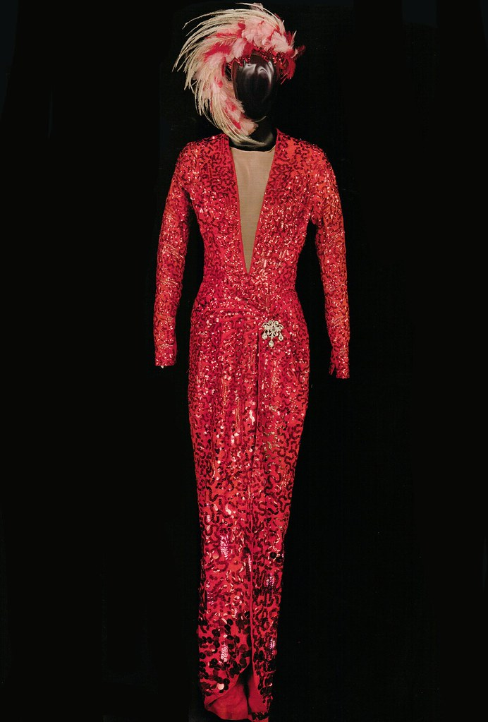"Marilyn Monroe's Costume from ""Gentlemen Prefer Blondes"""