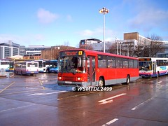 K719 DAO Volvo B10M Alexander PS. Buchanan Bus Station GLASGOW