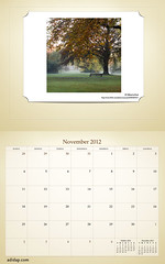 ADIDAP Calendar 2012 US Retro November