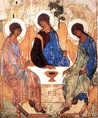 Andrey Rublyov (1411), La Santísima Trinidad