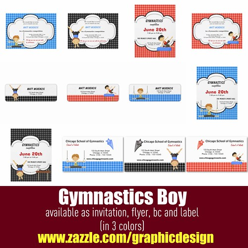 Gymnastics Boy