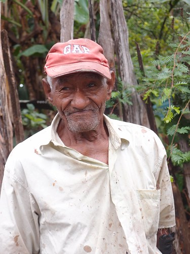 Local man in La Yagua, Mal Valverde, Dominican Republic