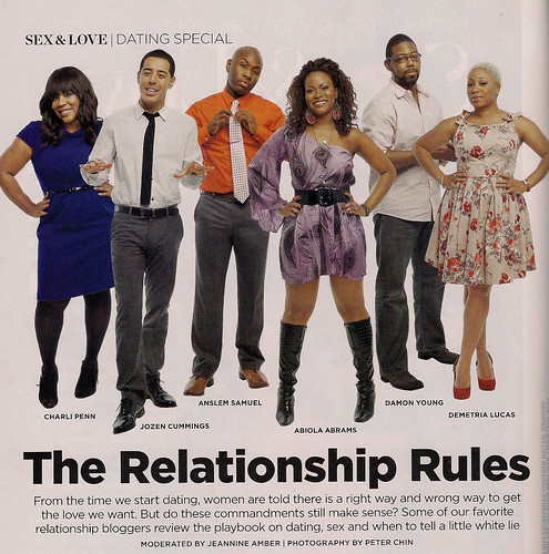 Essence Mag, February 2012: Relationship Rules Team