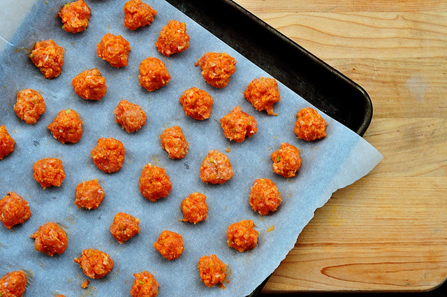 buffalo chicken meatballs 2