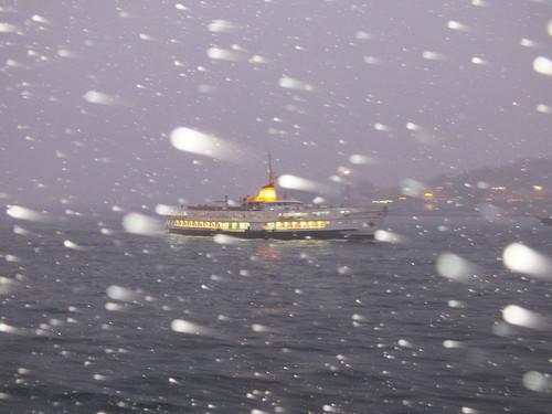 Hóban, tengeren
