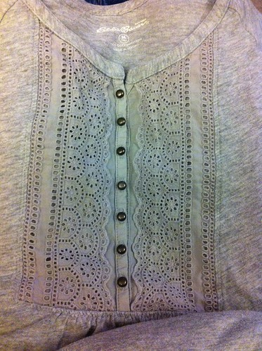Mended shirt
