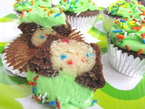 Finalist 2: Chocolate Truffle Funfetti Cupcakes