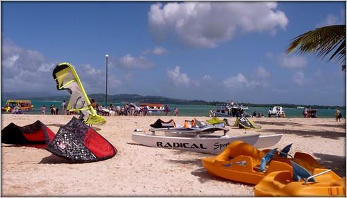 Caribbean Beach by Ginas Pics