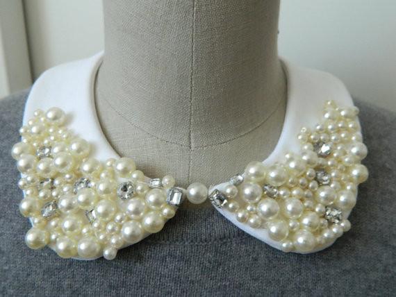 pearl encrusted