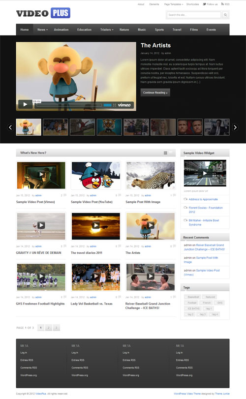 video-plus-wordpress-theme