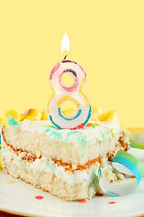 bigstock_Slice_Of_Eighth_Birthday_Cake