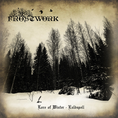 Frostwork - Lore Of Winter - Ealdspell- booklet cover