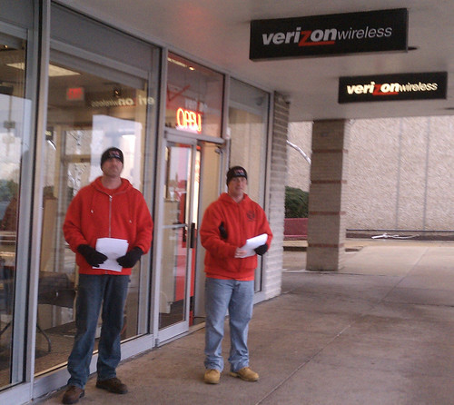 Terminated Verizon Workers
