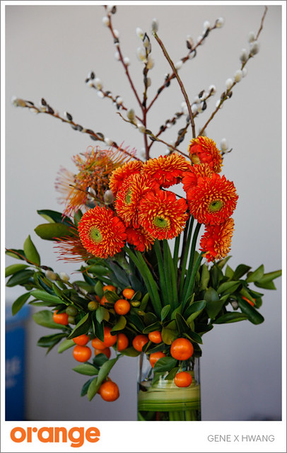 Orange Flowers by Soulflower Floral Design