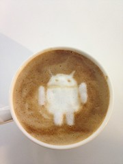 Today's latte, Android.