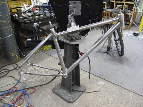 Final machining and then ride it.