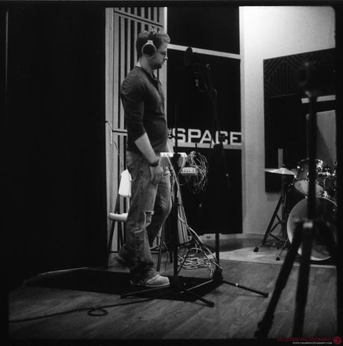 Matt Jackson [recording studio] Polaroid