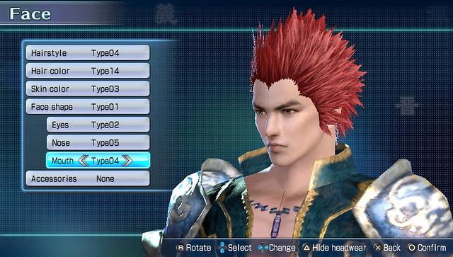 Dynasty Warriors Next Character Customization (10)