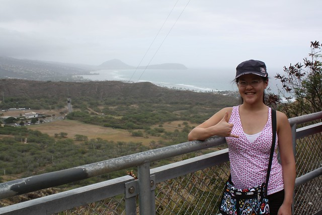Diane at Diamond Head