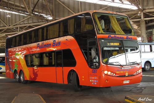 Pullman Bus | Terminal San Borja | Busscar Panorâmico DD / ZA8769