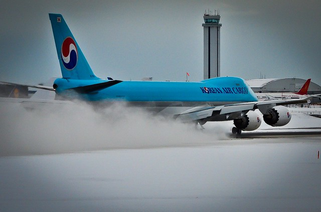 Korean Air Cargo TakeOff power set