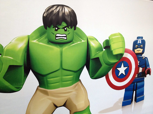 London ToyFair 2012: Lego Marvel SuperHeroes Avengers