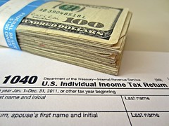 Money and Tax Return by 401(K) 2013