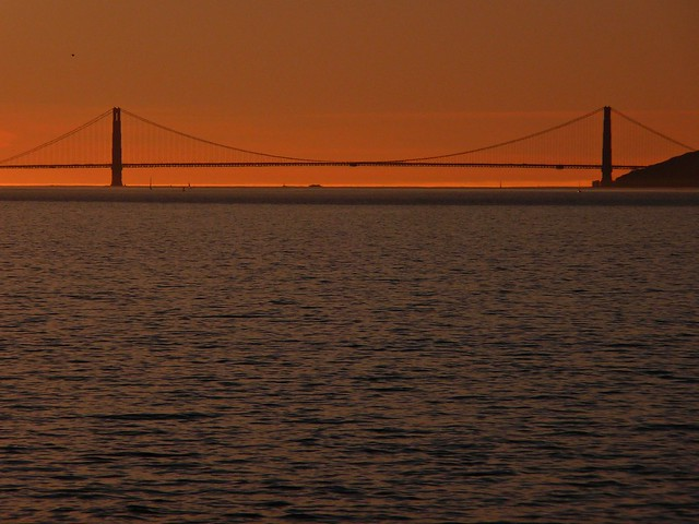 GGB from the Berkeley Marina