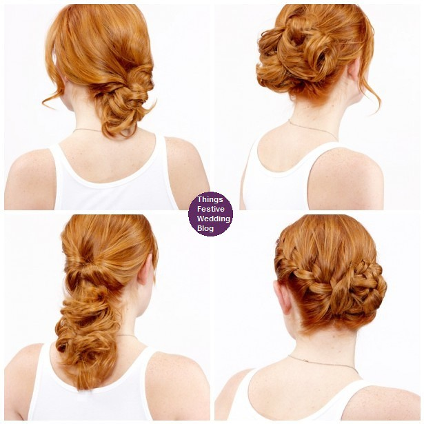 Easy Diy Wedding Hairstyles: Wedding Hairstyles And Accessories
