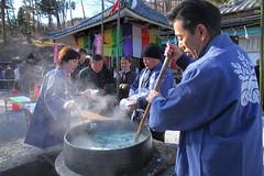 不動寺七草粥祭り