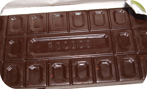Rococo Dark Chocolate with Caramelised Almonds