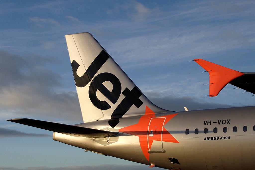 Jetstar Airbus A320 tail