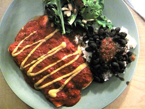 Gooseberry Enchiladas