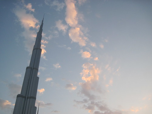 Morning Clouds and Burj