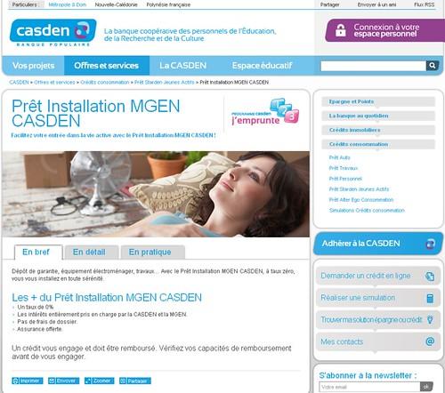 Caden.fr - page produits