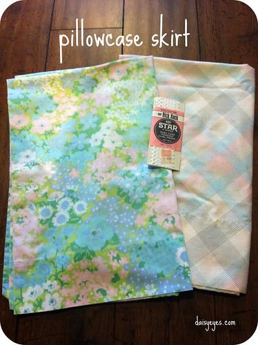 pillowcase skirt materials