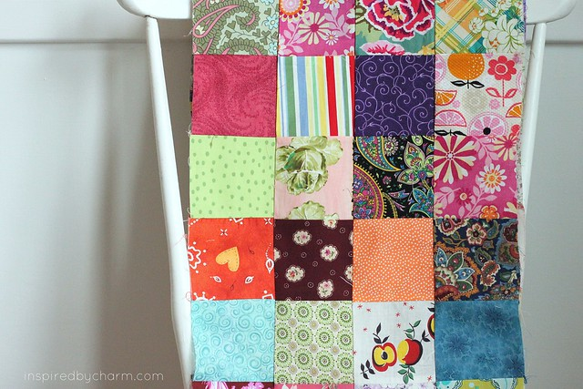 A Quilt {IBC} four rows