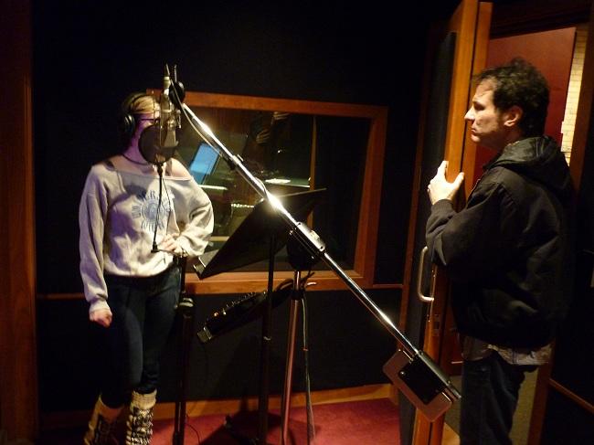 Kevin Bowe Directing Vocals W/ Kay Gillette